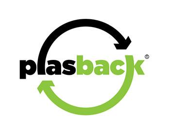 Plasback logo